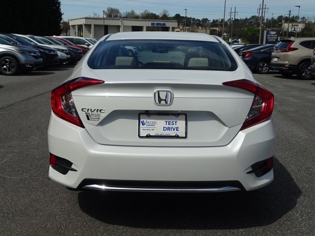 New 2019 Honda Civic Sedan Lx 4dr Car In 492708 Ed