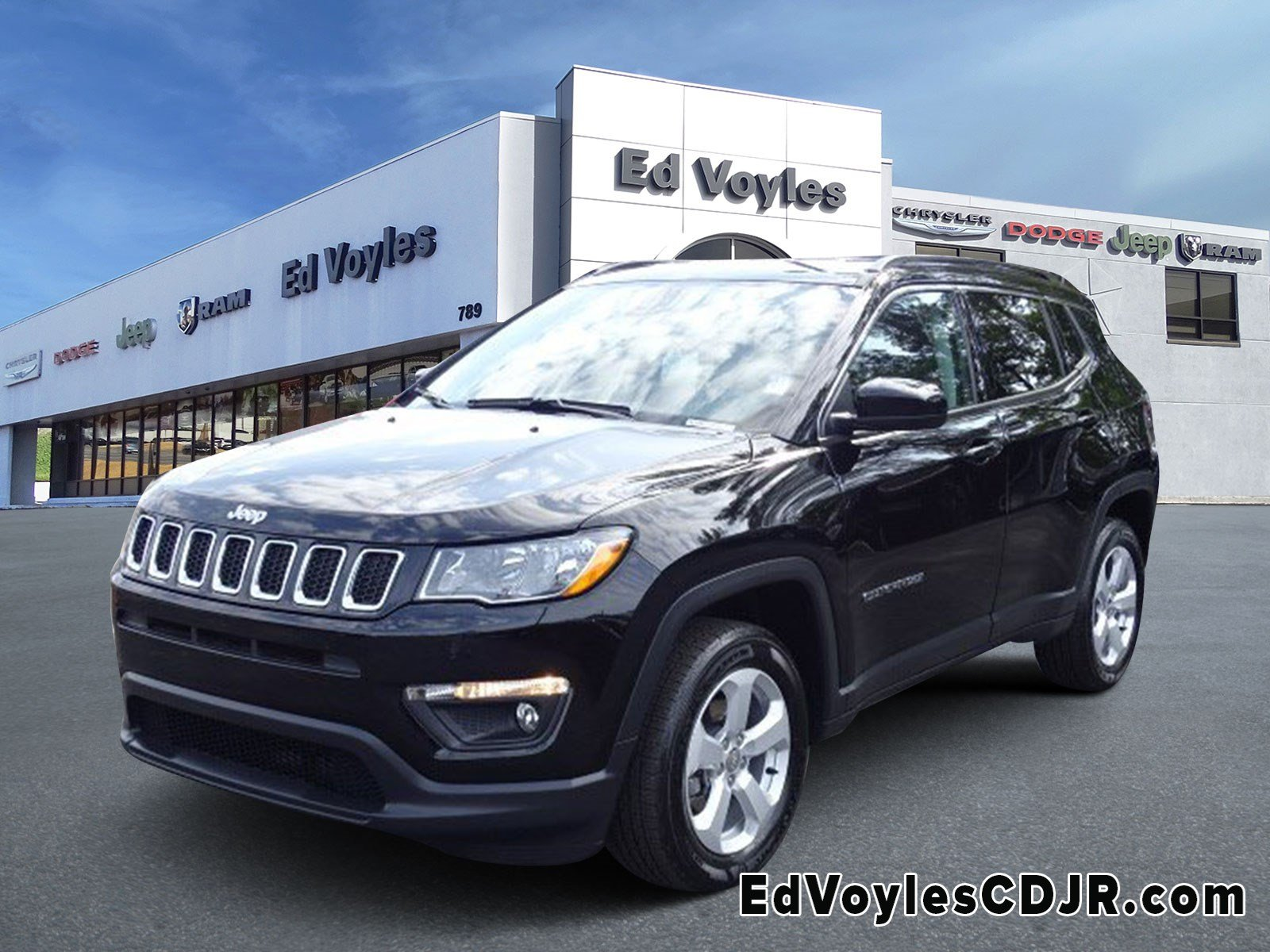 Jeep Certified Pre Owned >> Certified Pre Owned 2019 Jeep Compass Latitude Sport Utility In